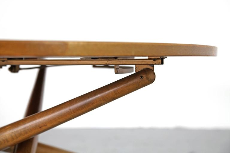 Height Adjustable Coffee Table By Jurg Bally For Wohnhilfe