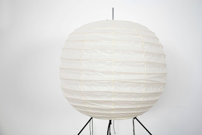 Isamu Noguchi Lamp UF2-FF Akari Light Sculpture at 1stdibs