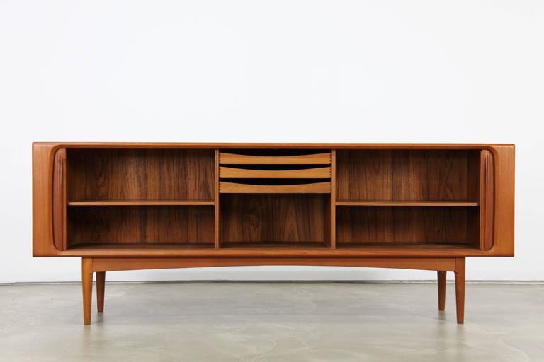 Bernhard Pedersen And Son Teak Sideboard Made In Denmark