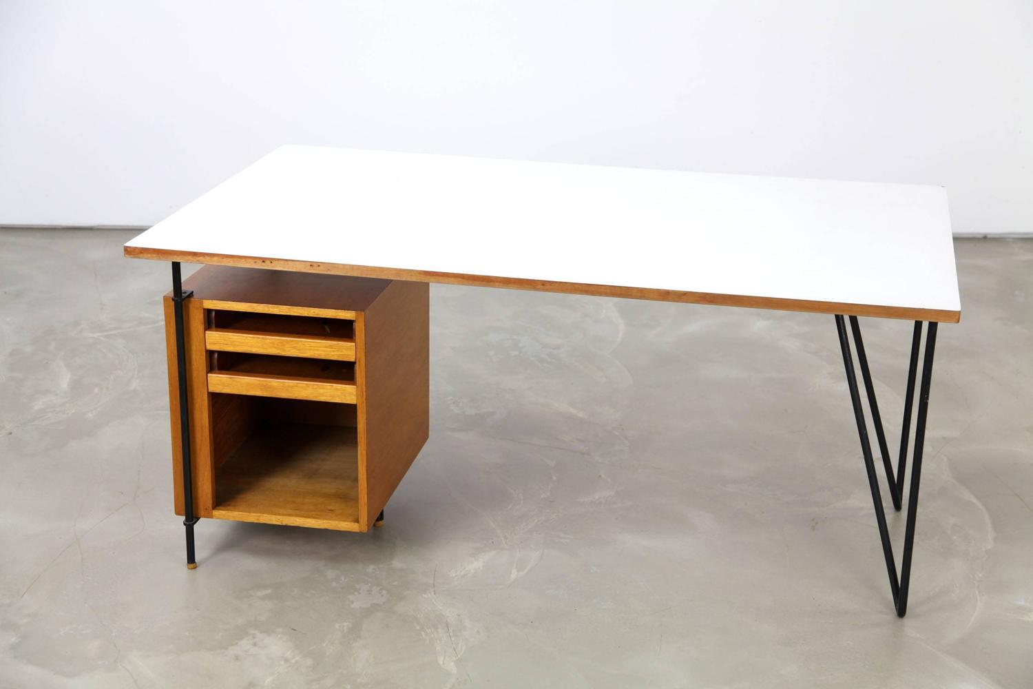 1950s architect 39 s desk made in germany at 1stdibs