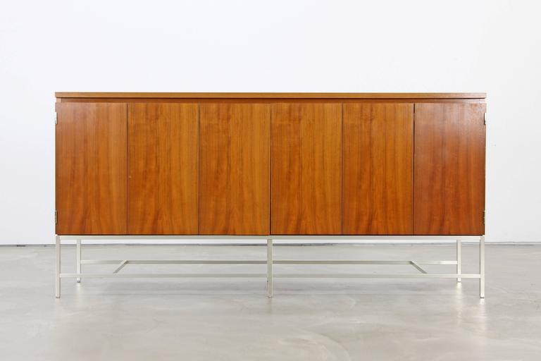 walnut credenza by paul mccobb for wk germany for sale at 1stdibs. Black Bedroom Furniture Sets. Home Design Ideas