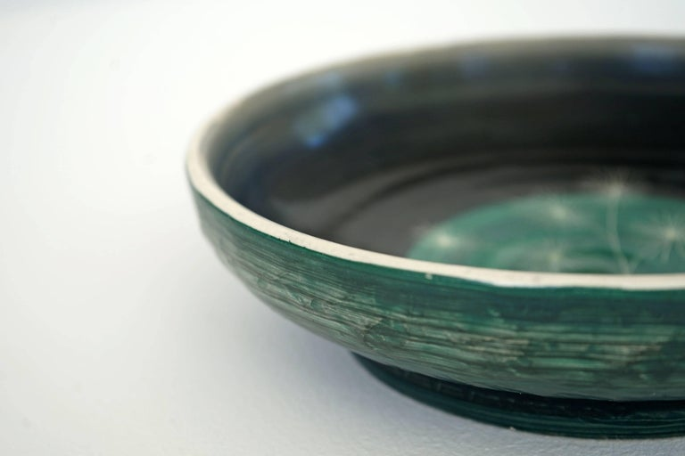 Set of Handmade Ceramic Bowls by Tapis Vert in Vallauris, 1950s For Sale 7