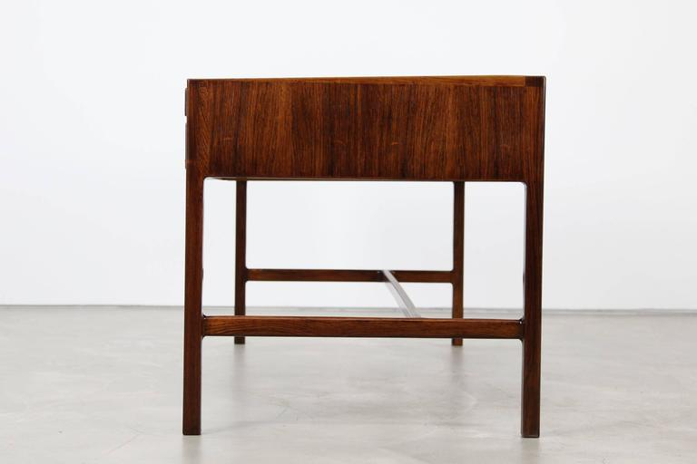 Rare Rosewood Desk by Kurt Østervig for Jason Møbler, 1957 For Sale 1