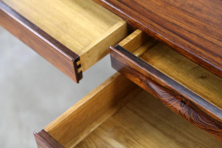Rare Rosewood Desk by Kurt Østervig for Jason Møbler, 1957 For Sale 4