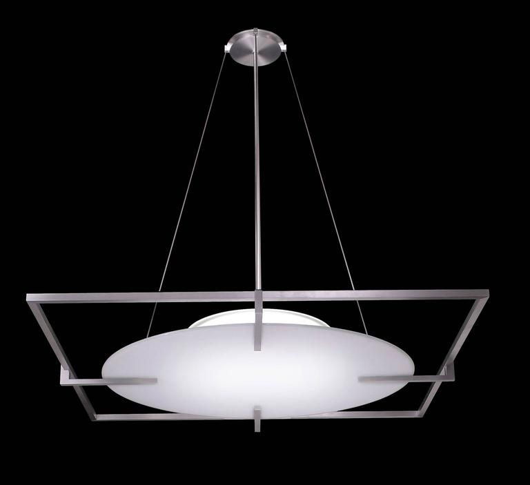 Duesenberg No 018 Square Frame Glass Pendant Light 46