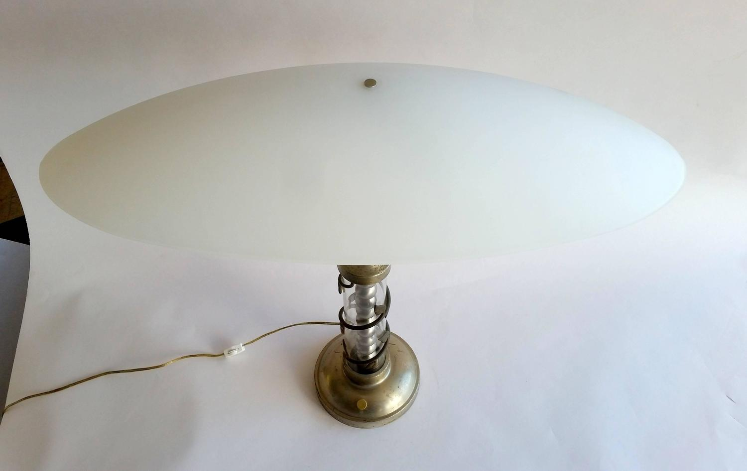 Fillable glass table lamp uk best inspiration for table lamp table lamp top view geotapseo Gallery