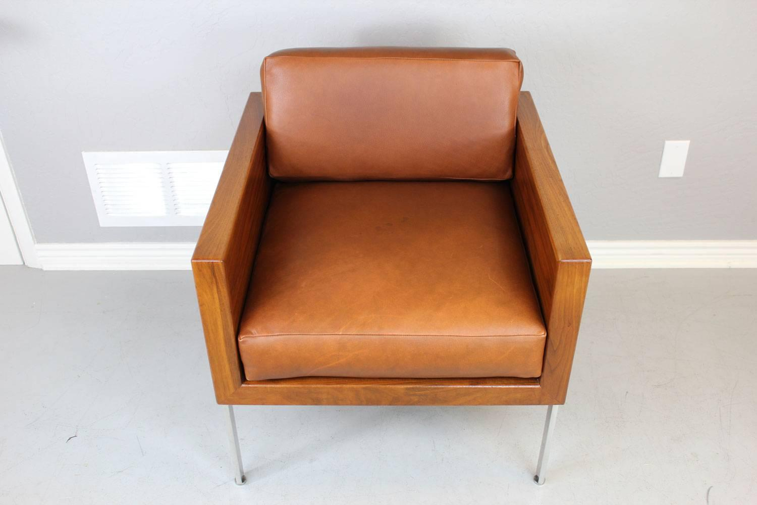 "Harvey Probber Architectural Series ""Cube Chair"" For Sale"