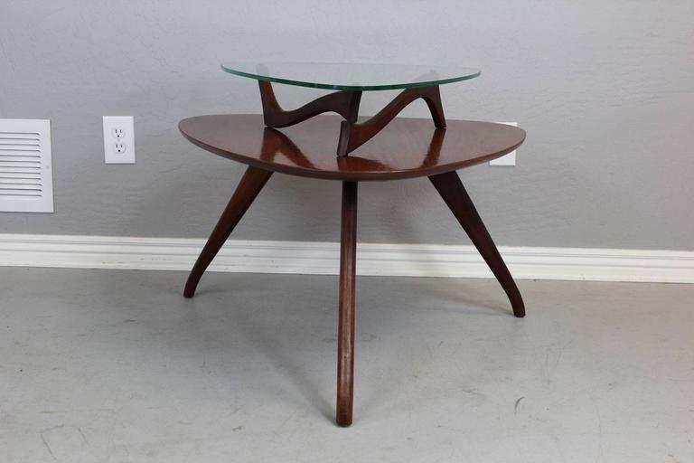 Mohagany Living Room Table