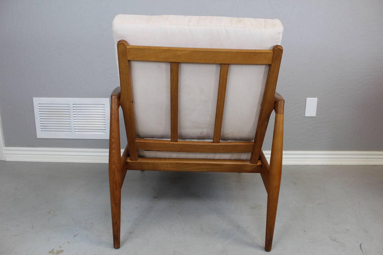 Pair of kai kristiansen lounge chair for sale at 1stdibs - Kai kristiansen chair ...