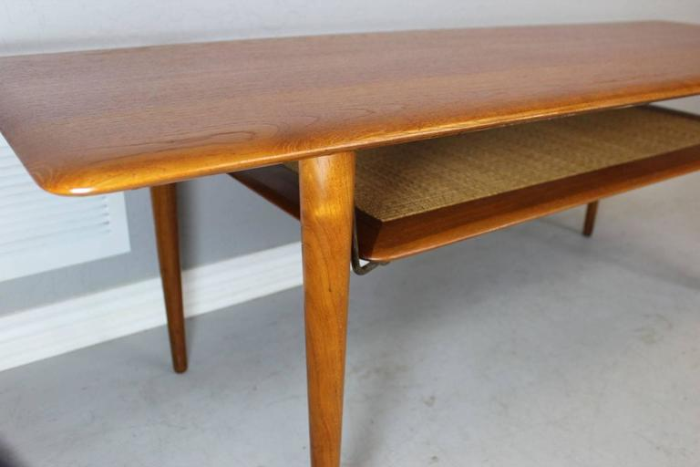 Peter Hvidt Solid Teak Coffee/Cocktail Table for France & Sons For Sale 1