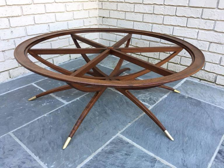 Spider Leg Coffee Or Cocktail Table At 1stdibs
