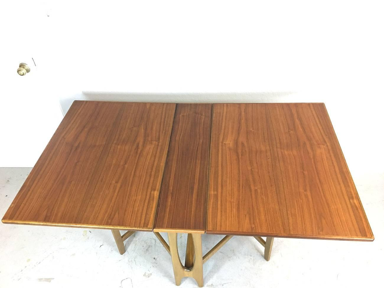 Drop-Leaf Gate Leg Table in the Style of Bruno Mathsson