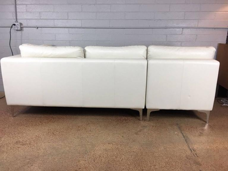 design within reach sofa by american leather company for sale at