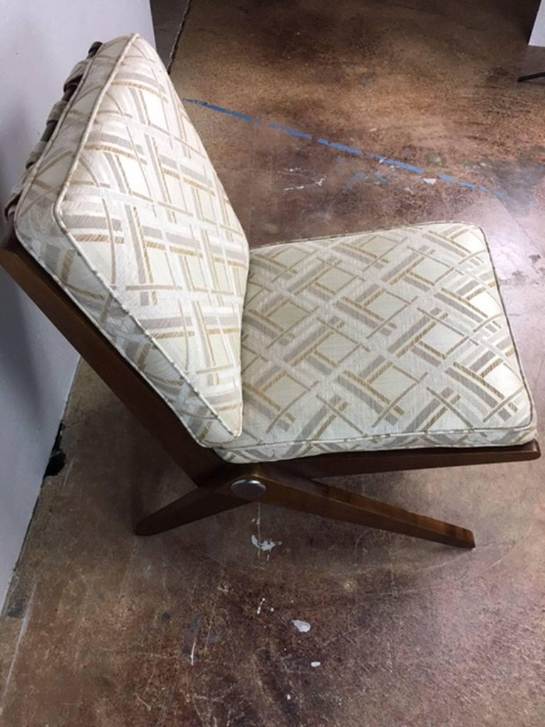 Pierre Jeanneret Sissor Lounge Chair, Pair In Excellent Condition For Sale In Phoenix, AZ