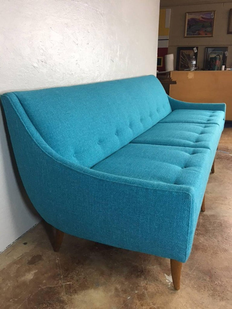 Adrian Pearsall Style Sofa At 1stdibs