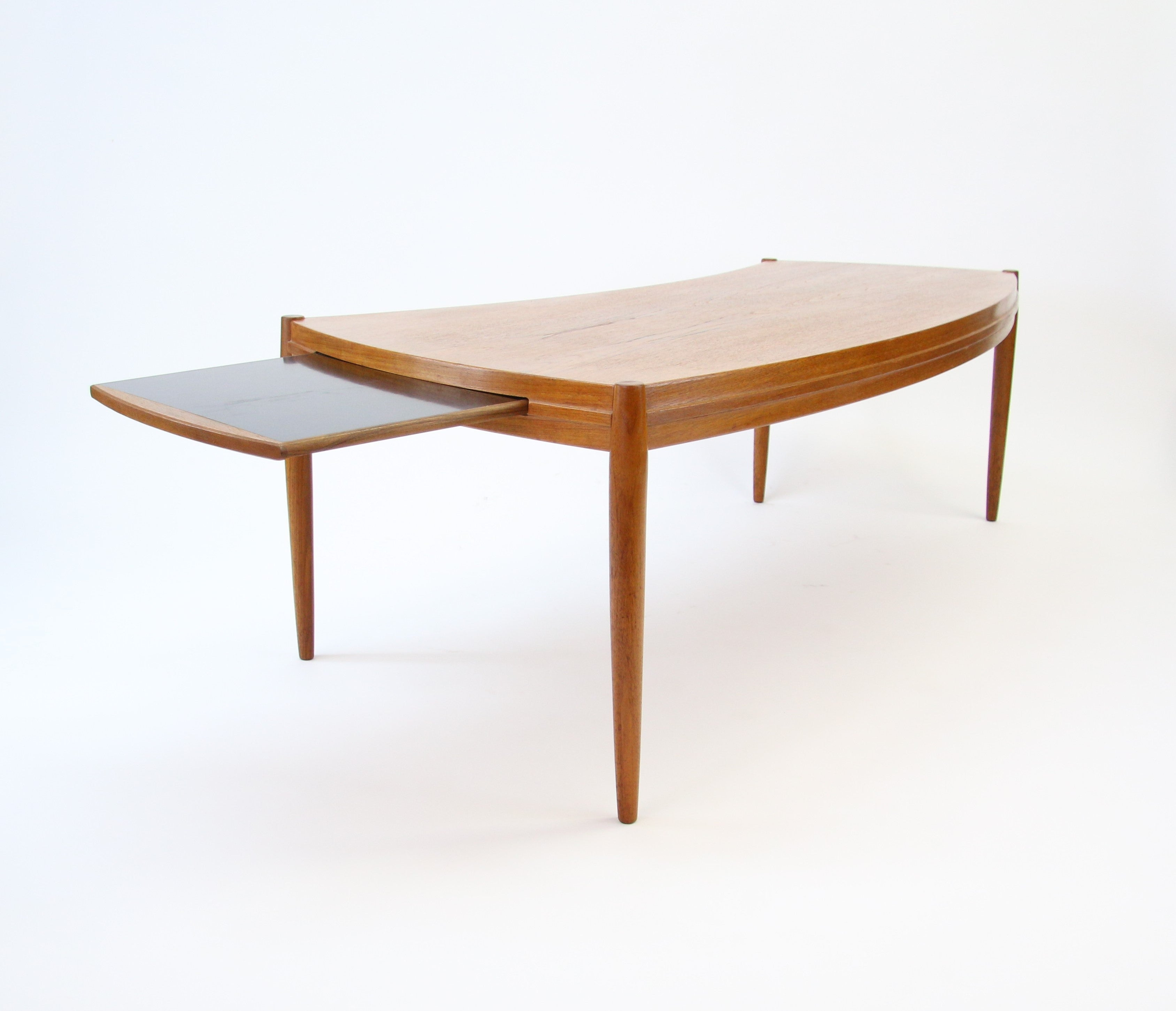 johannes andersen coffee table at 1stdibs Curved Coffee Table