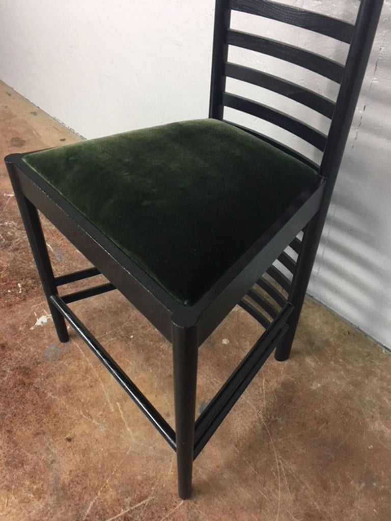 Charles Rennie Mackintosh Ladderback Chair At 1stdibs