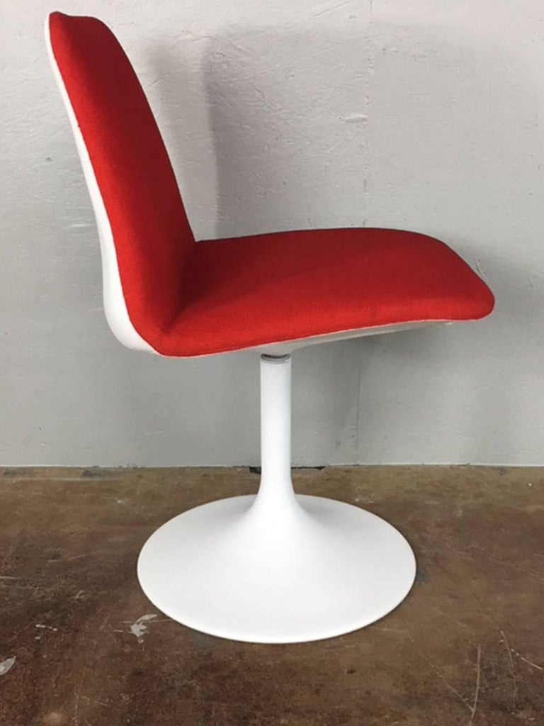 Tulip Base Dining Chair Set For Sale At 1stdibs
