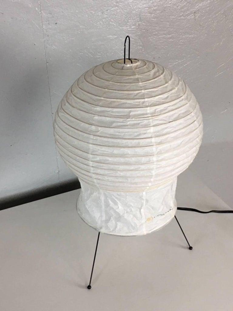 Mid-Century Modern Isamu Noguchi Akari Series Table Lamp For Sale