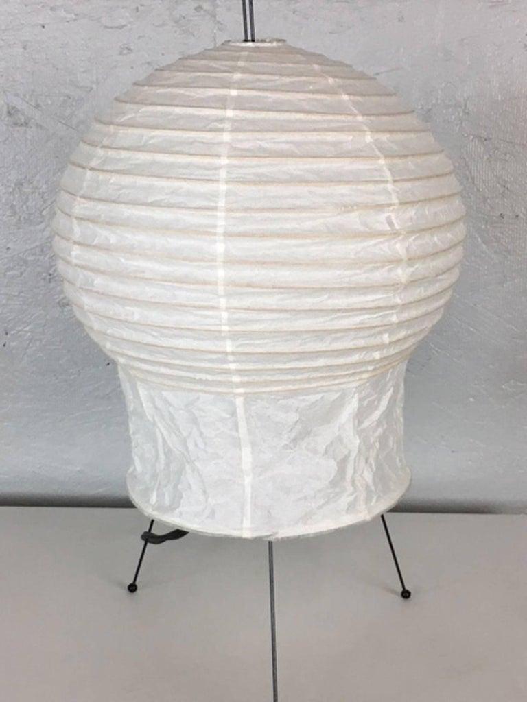 Japanese Isamu Noguchi Akari Series Table Lamp For Sale