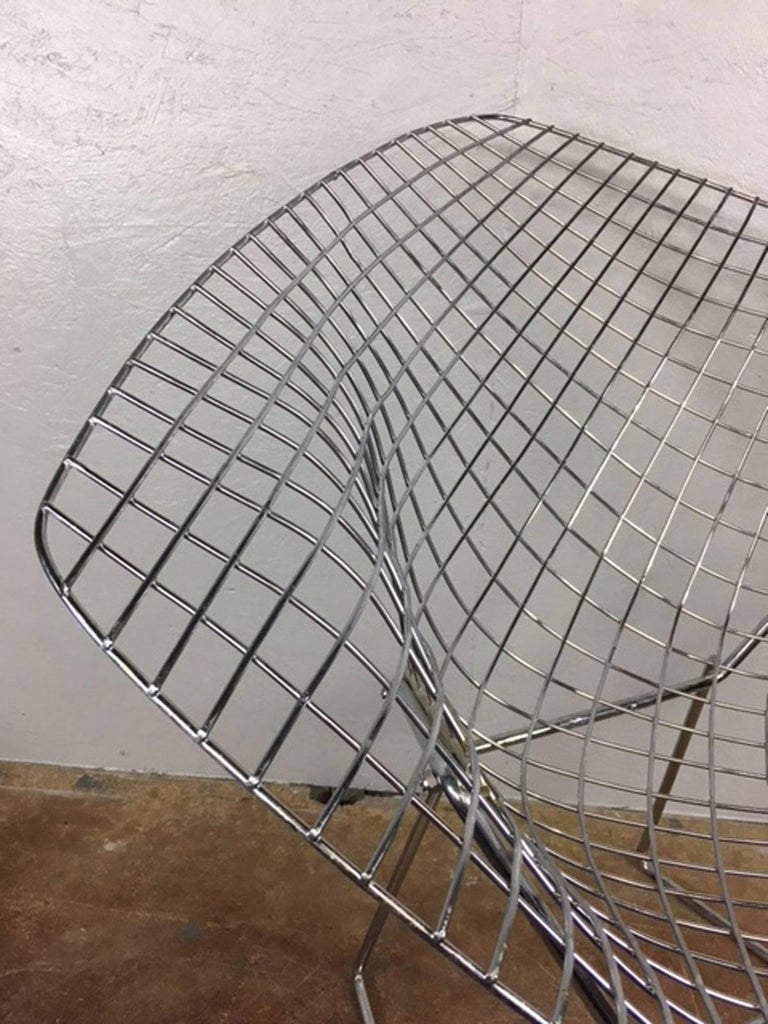 Bertoia Diamond Chair by Knoll International For Sale at 1stdibs