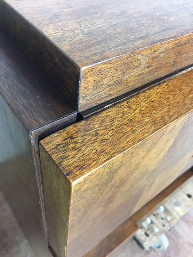 Patchwork Brutalist Dresser or Credenza by Altavista Lane 3