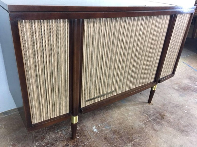 motorola 3 channel stereophonic high fidelity stereo console at 1stdibs