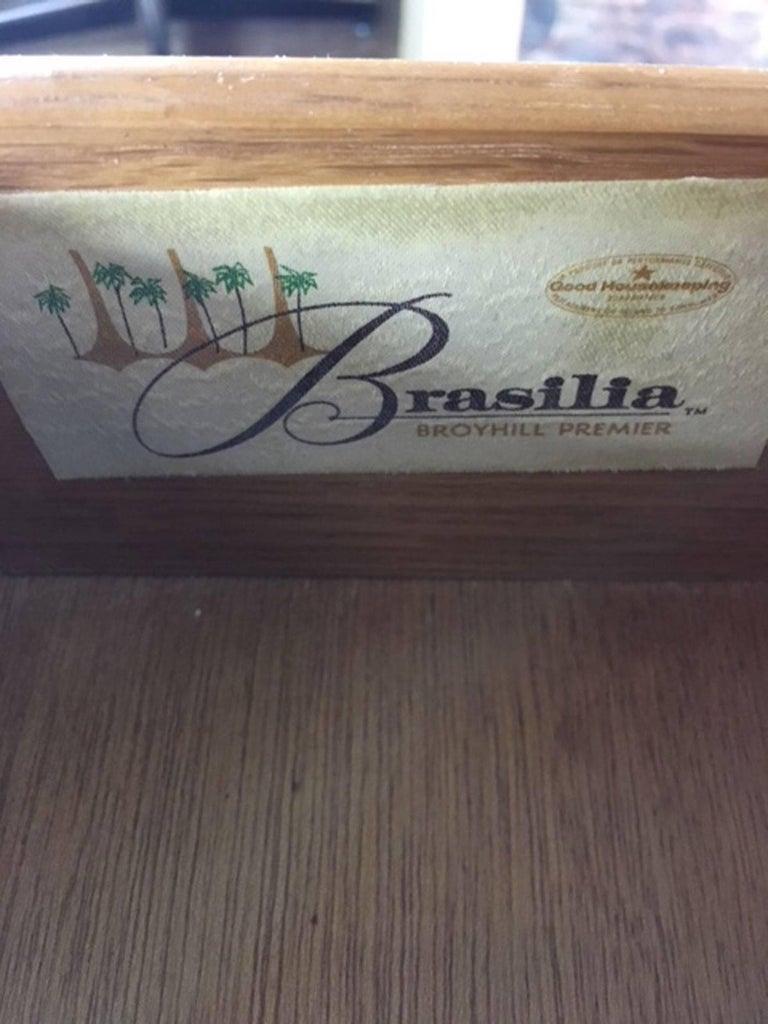 Broyhill Brasilia Bar Cart For Sale 5