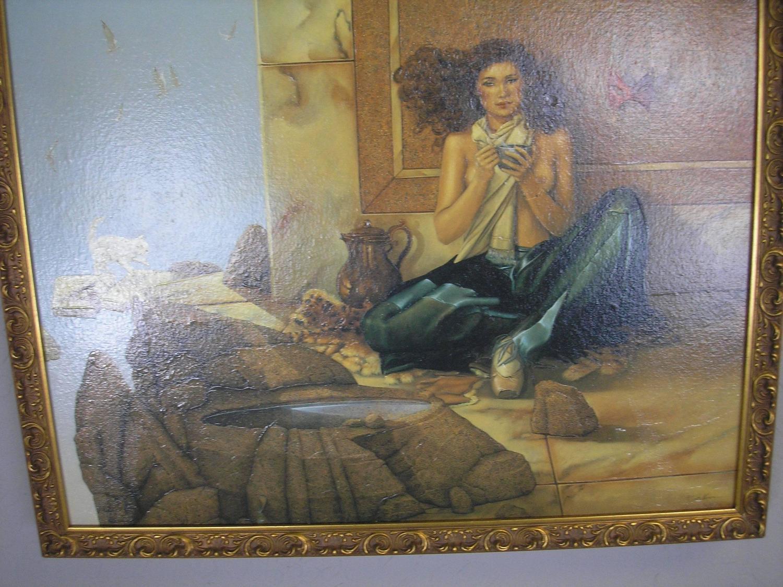 Michael Parkes Original Painting For Sale