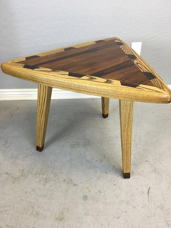 Mid Century Style Guitar Pic End Or Side Table For Sale At
