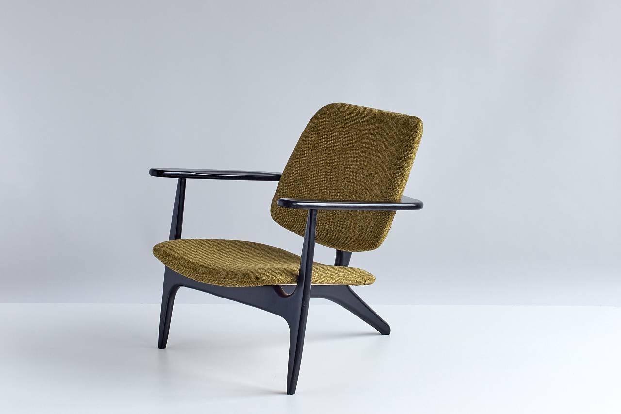 Alfred hendrickx s3 armchair at 1stdibs for Lounge chair kopie
