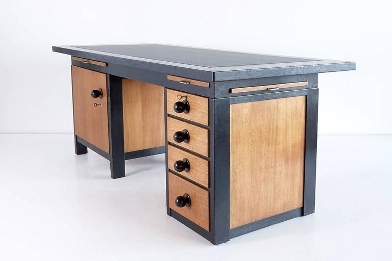 Dutch Important Architect's Desk by Frits Spanjaard, 1932 For Sale