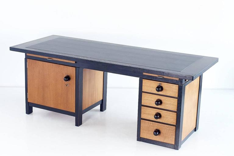 Art Deco Important Architect's Desk by Frits Spanjaard, 1932 For Sale