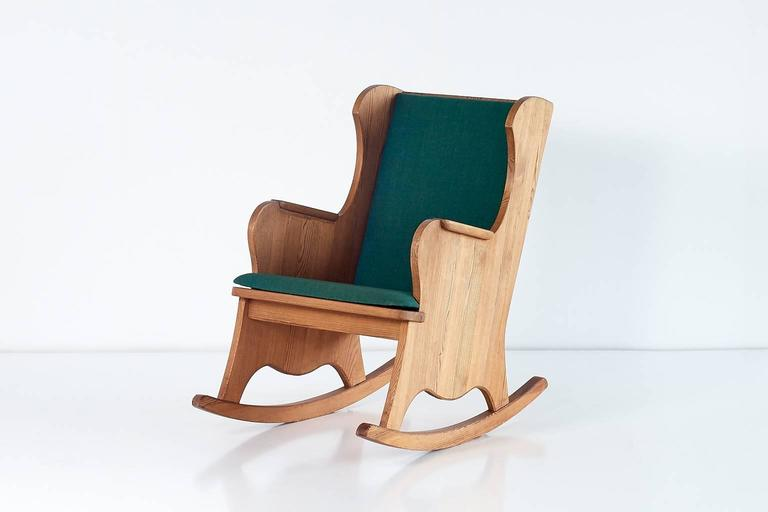 Axel Einar Hjorth U0027Lovöu0027 Rocking Chair For Nordiska Kompaniet, 1932