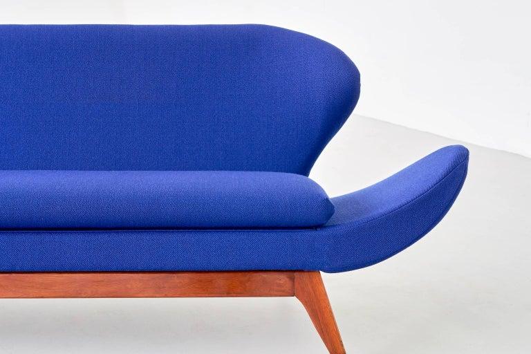 Upholstery Exceptional Luigi Tiengo Sofa for Cimon Montréal, 1963 For Sale
