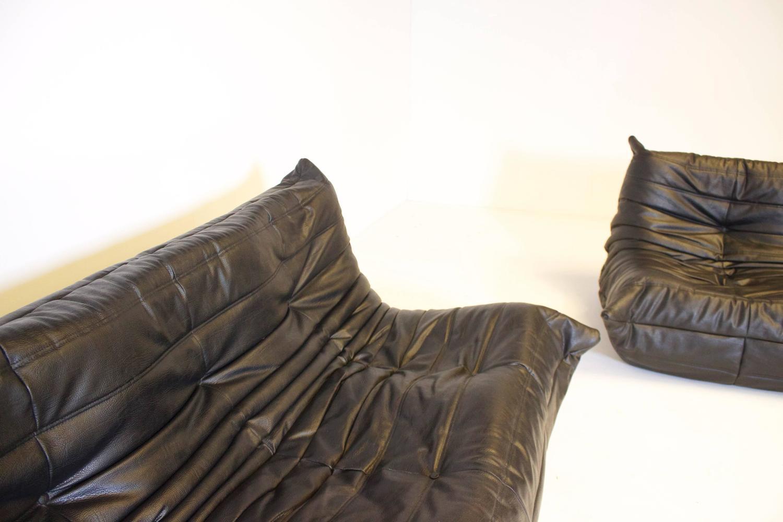 Set of ligne roset togo sofa s by michel ducaroy at 1stdibs - Togo sofa by ligne roset ...