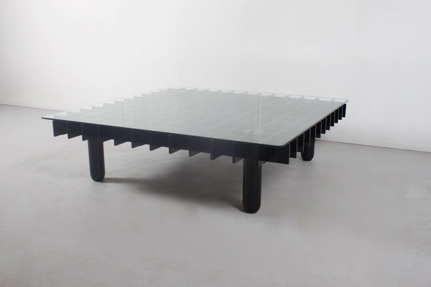 1970s Graphic Kyoto Coffee Table By Gianfranco Frattini For Knoll At 1stdibs