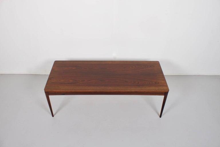 Scandinavian Modern Coffee Table by Johannes Andersen, Denmark, 1960s For Sale