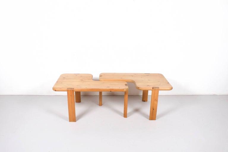 Scandinavian Modern Pair of Aksel Kjersgaard Coffee Tables for Odder Furniture, 1960 For Sale