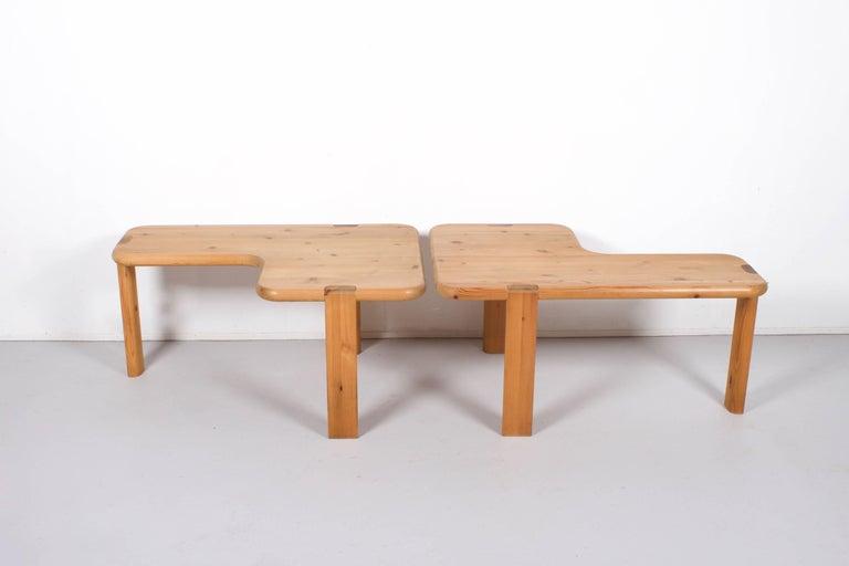 Danish Pair of Aksel Kjersgaard Coffee Tables for Odder Furniture, 1960 For Sale