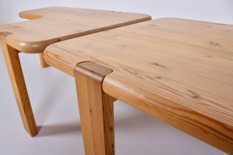 Pair of Aksel Kjersgaard Coffee Tables for Odder Furniture, 1960 In Good Condition For Sale In Echt, NL