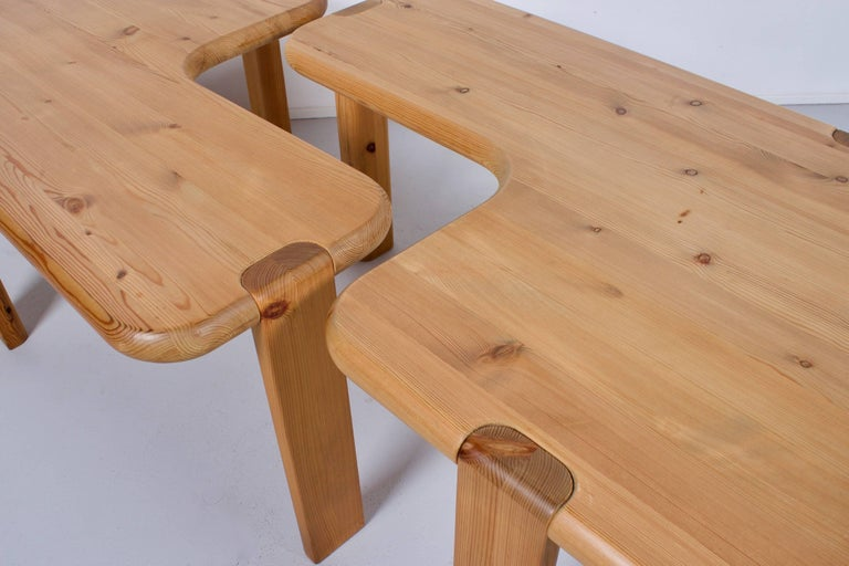 20th Century Pair of Aksel Kjersgaard Coffee Tables for Odder Furniture, 1960 For Sale