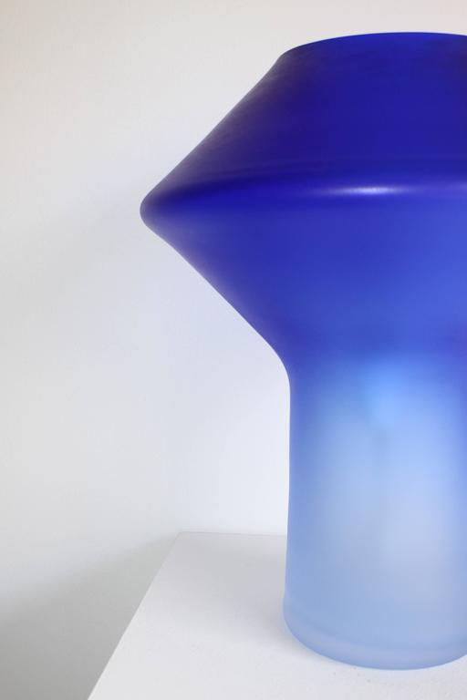 Italian Large Murano Glass Table Lamp by Cenedese, 1960s For Sale