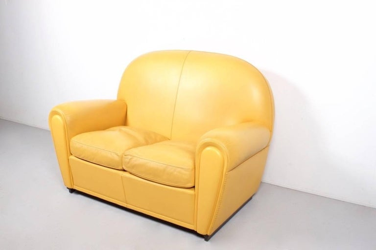 Poltrona Frau Vanity Fair Sofa by Renzo Frau For Sale at 1stdibs
