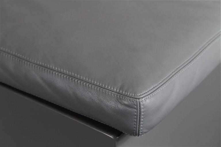 Leather 1970s Sofa Brigadier, Cini Boeri for Knoll For Sale