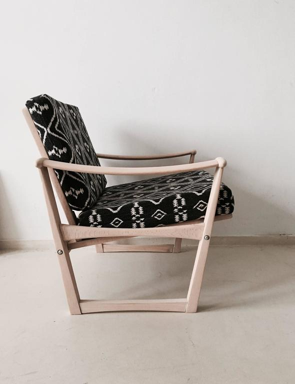 Bohemian armchair,  Finn Juhl, M. Nissen for Pastoe, 1960s. In Excellent Condition For Sale In Schagen, NL