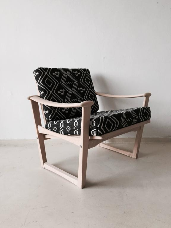 Dutch Bohemian armchair,  Finn Juhl, M. Nissen for Pastoe, 1960s. For Sale