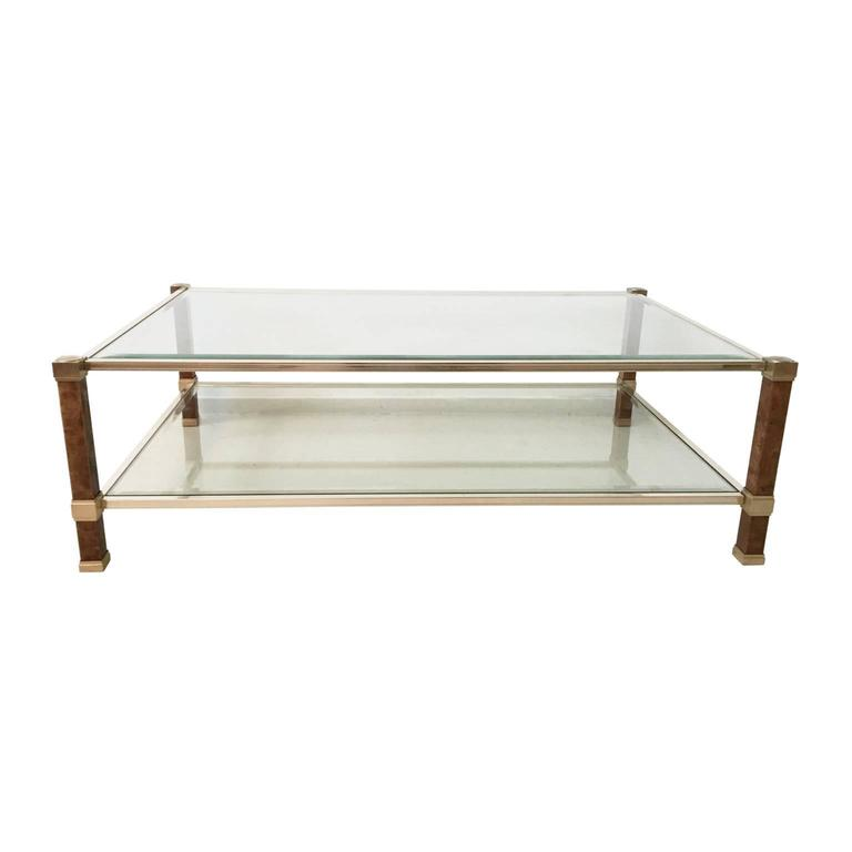 Rare pierre vandel rectangle coffee table 1970s for sale - Table basse 100x100 ...