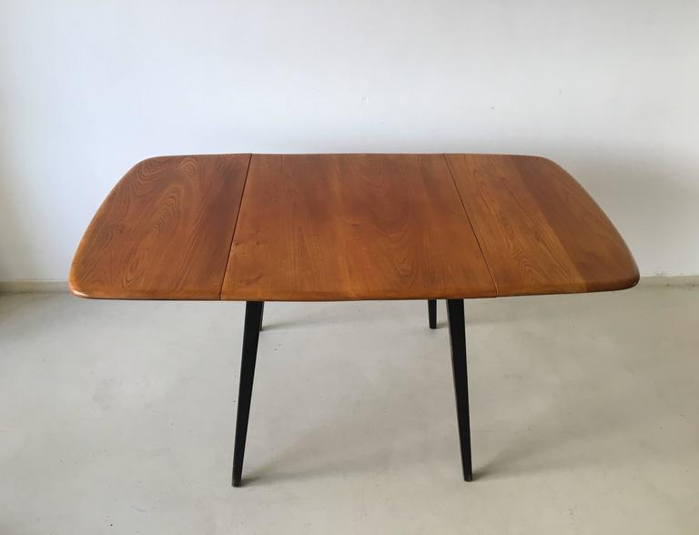 Ercol Drop Leaf Dining Table 1960s at 1stdibs : image2l from www.1stdibs.com size 768 x 588 jpeg 21kB