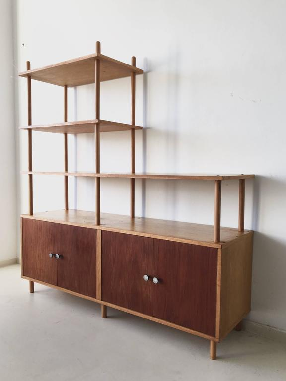 Midcentury Bookcase by Willem Lutjens for Gouda Den Boer at 1stdibs
